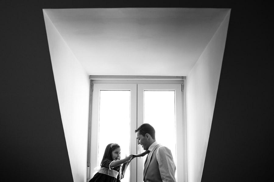fotografio de boda en El Escorial