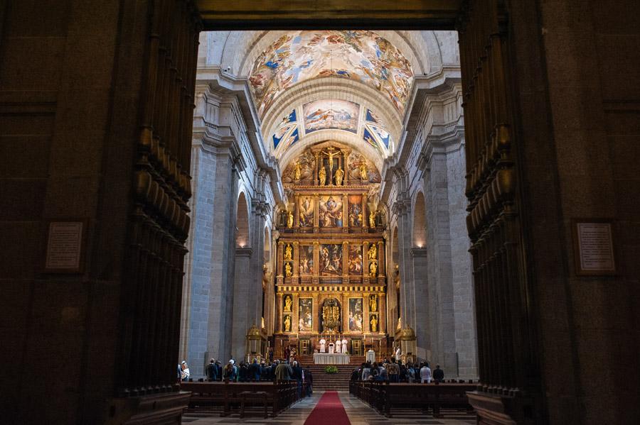 fotografo de boda en el monasterio de el escorial de madrid