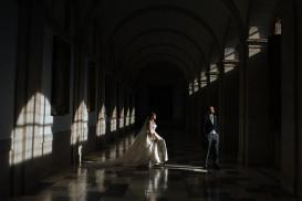 fotografia de boda en el monasterio de el escorial de madrid