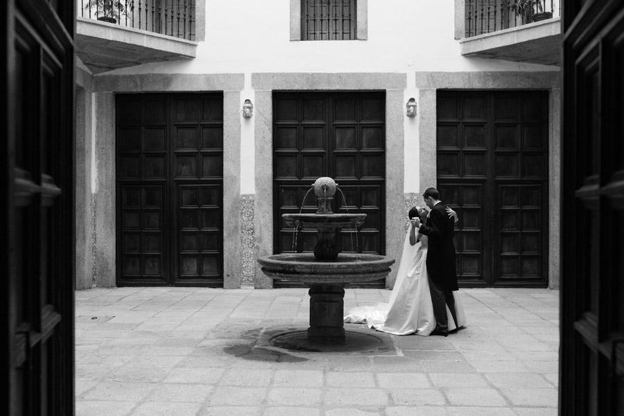 fotografo de boda en el monasterio de el escorial