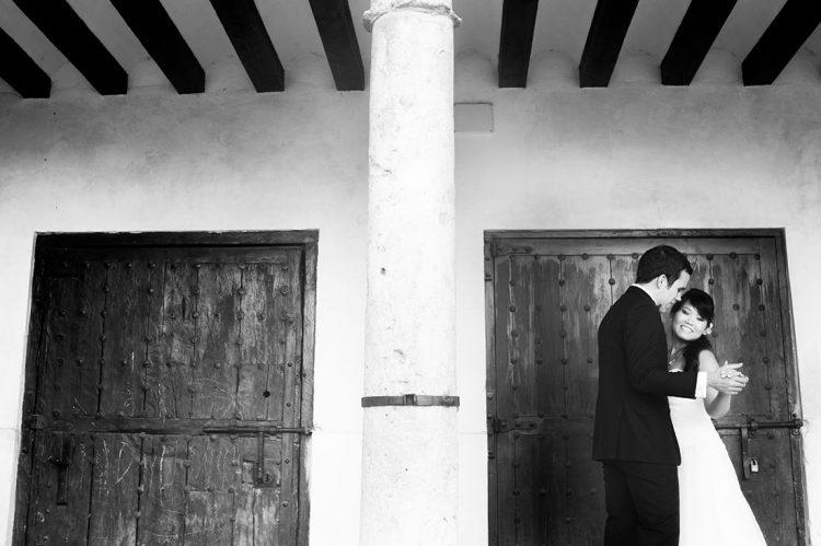boda en el parador de chinchon