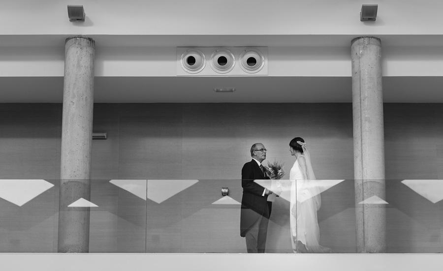 fotos boda claustros de ayllon