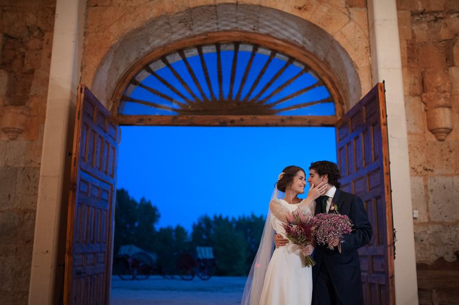 fotografo boda claustros de ayllon