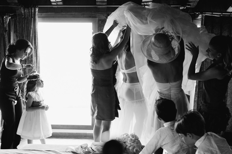 fotos de boda en aldea de santillana
