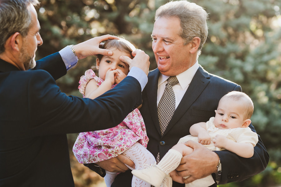 fotos de familia en un bautizo en hortaleza