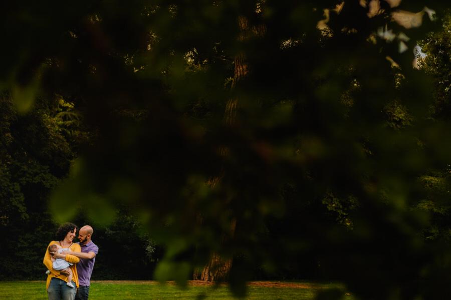 fotos de familia en el parque de el capricho