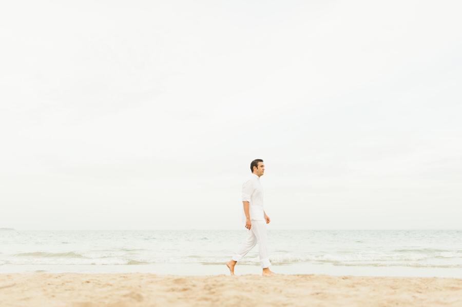 fotos de pareja en la playa de guardamar
