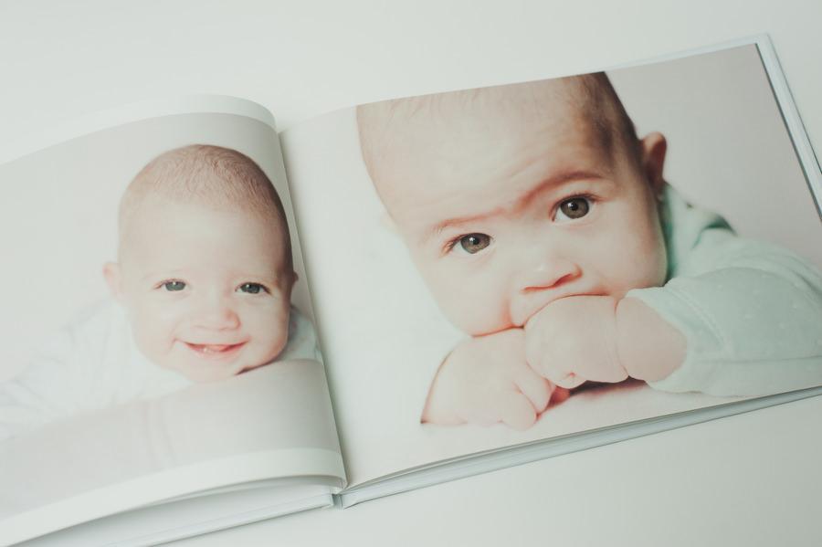 album de fotos de bautizo para los abuelos