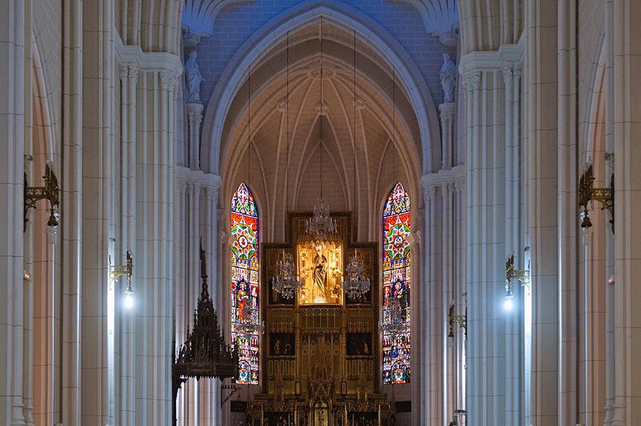 fotos bautizo basilica de la concepcion madrid