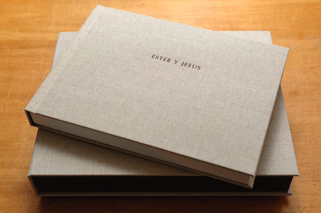 album de boda tapizado vintage collection