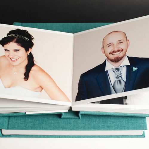album de boda aterciopleado retro collection
