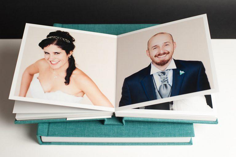 album de boda aterciopleado retro collection