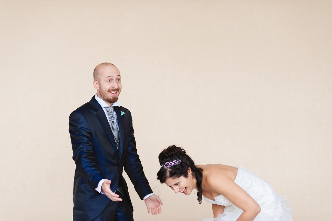 foto de boda en la finca cortijo el gallinero