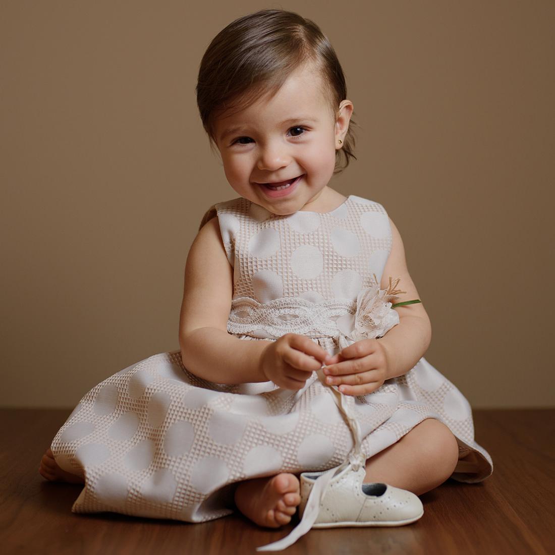 foto de bebe para recordatorios de su bautizo