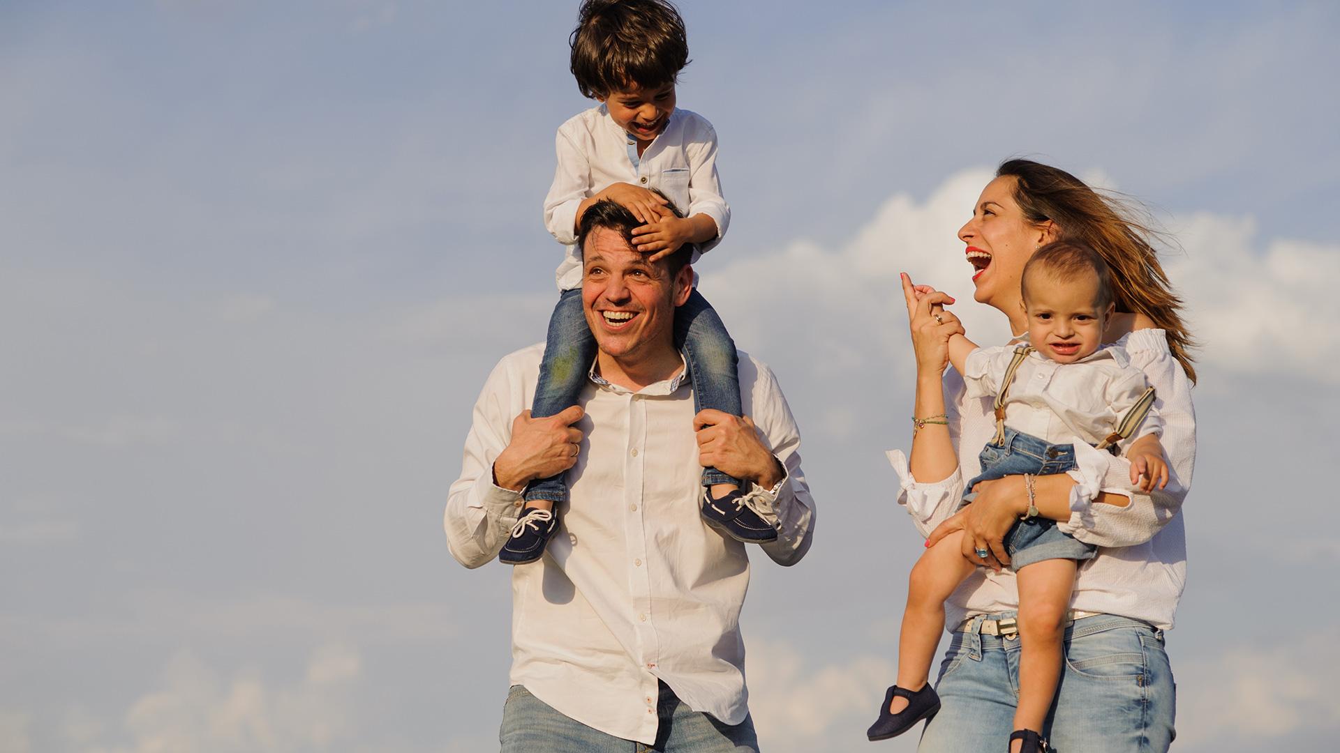 sesion fotos familia campo de las naciones madrid