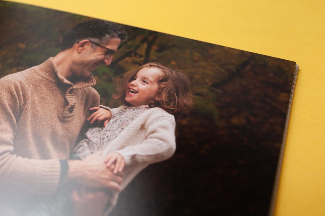 album de fotos de una seison de fotos de familia