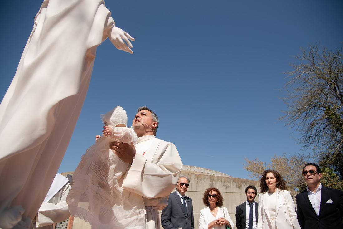 bautizo fuente del fresno ofrenda a la virgen