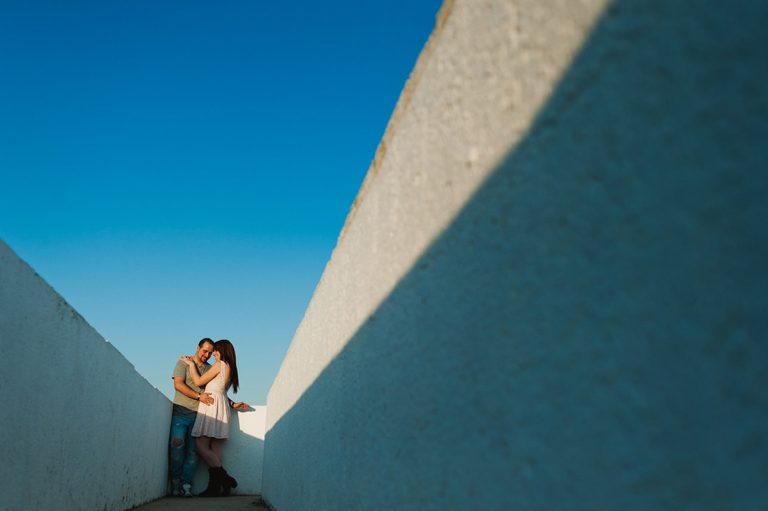 sesion de fotos de pareja en campo de las naciones